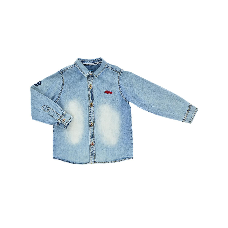 Джинсовая рубашка для мальчика