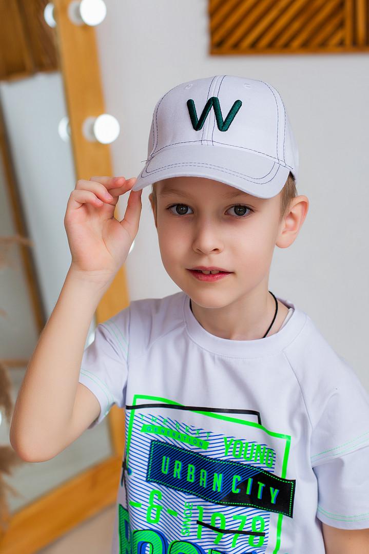 "Кепка ""W"" для хлопчика"
