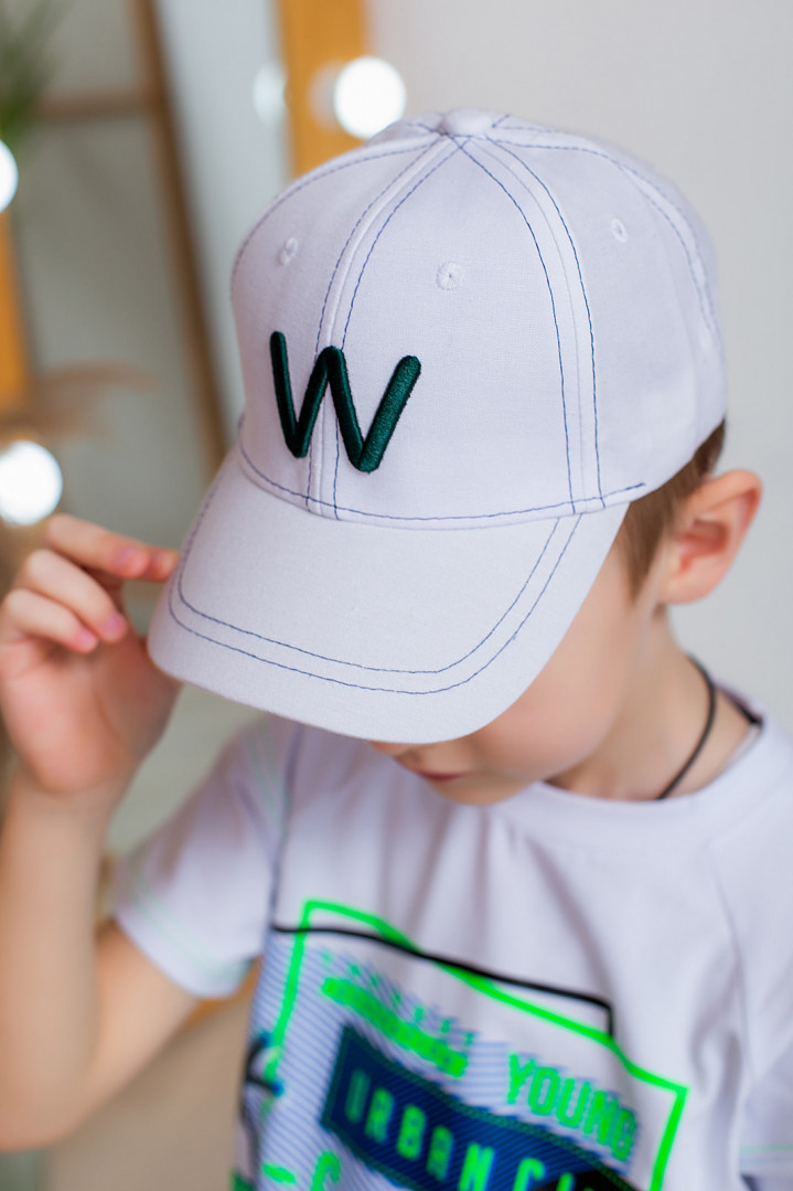 "Кепка ""W"" для мальчика"