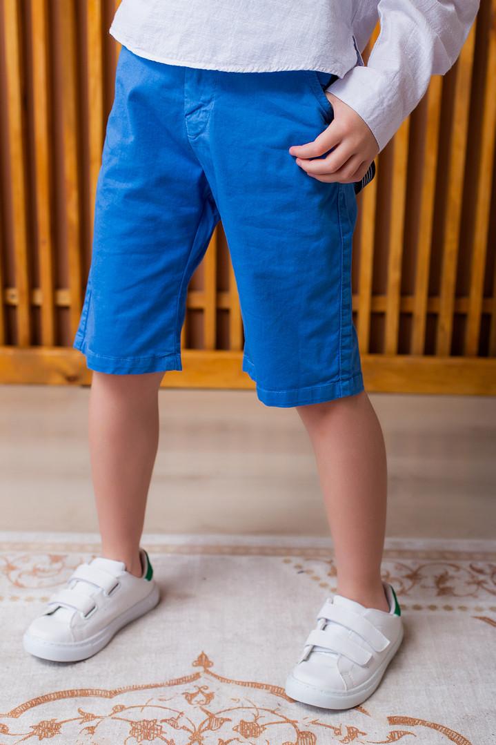 Шорти з підтяжками для хлопчика