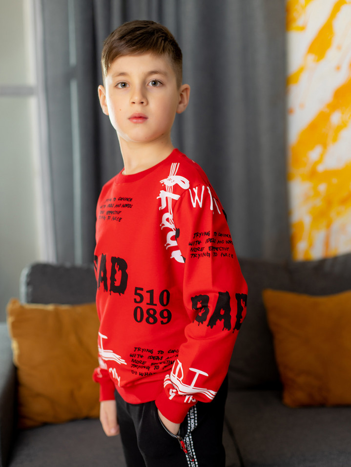 """Худі """"RAD"""" для хлопчика"""