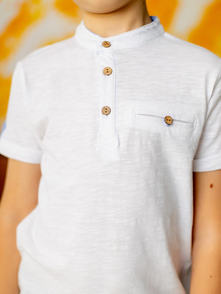 Классическая футболка для мальчика