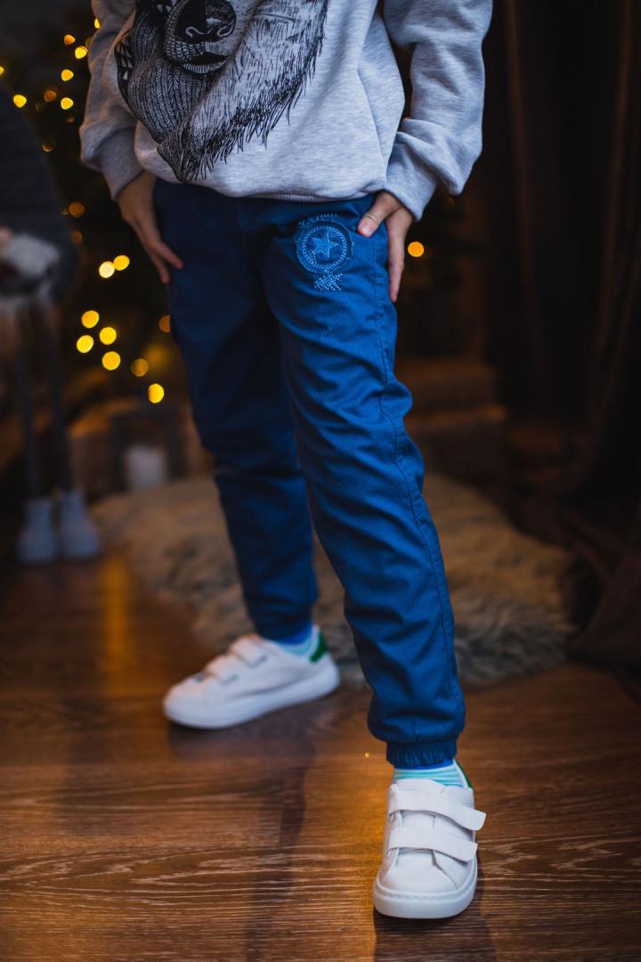 """Утиплёные штаны """"Denim""""  для мальчика"""