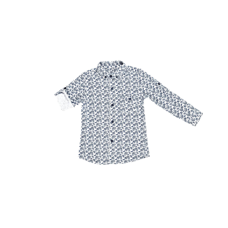 Рубашка с узором  для мальчика