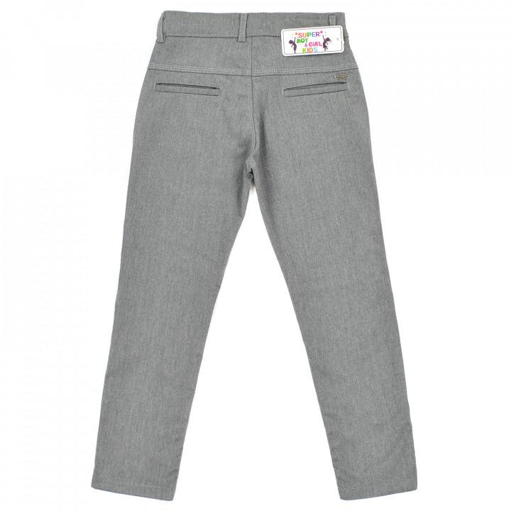 Сірі брюки для хлопчика