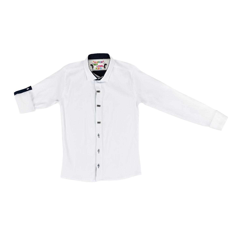 Белая рубашка для мальчика