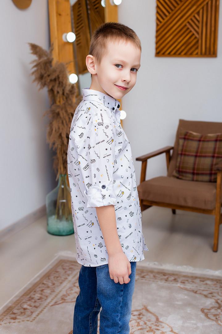 "Рубашка ""SIMPLEI"" для мальчика"