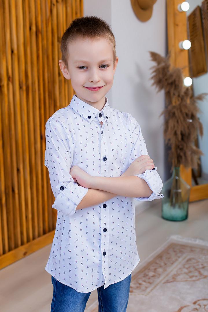 "Рубашка ""STYLE"" для мальчика"