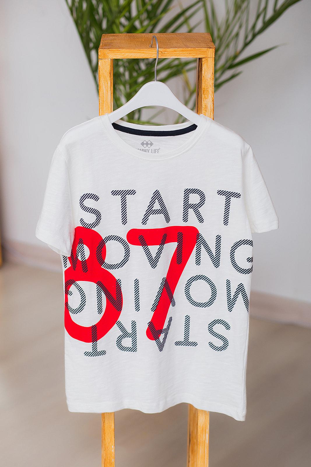 "Футболка ""START""  для мальчика"