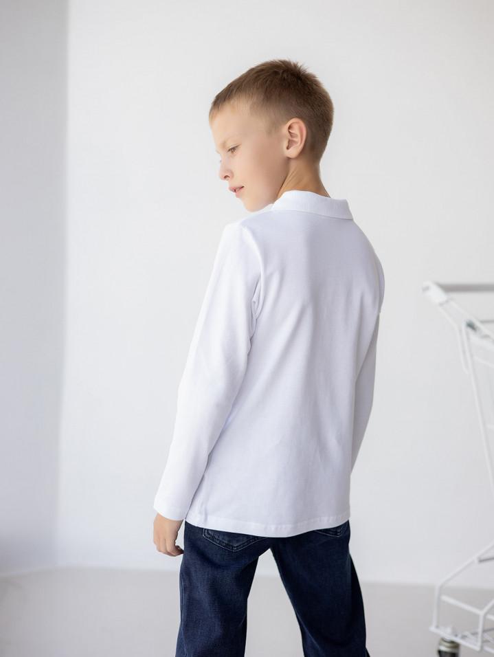 Поло белая RW для мальчика