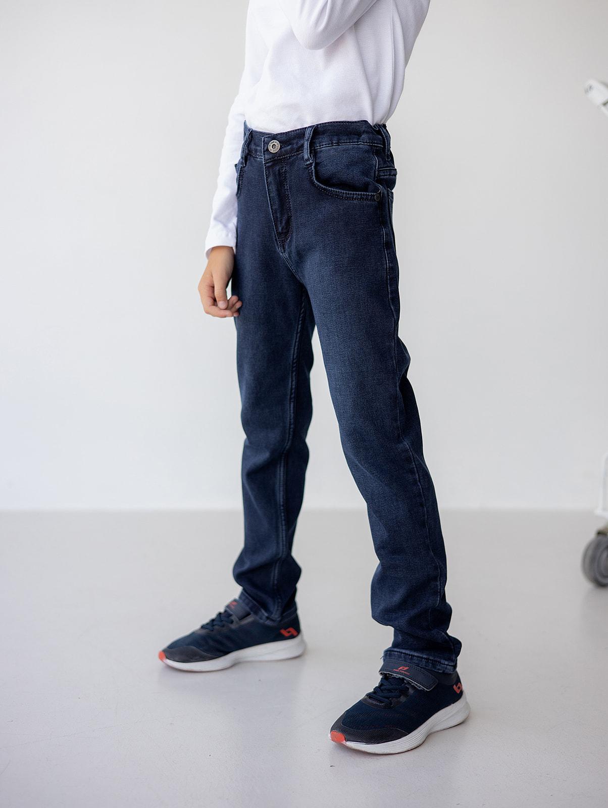 Темно сині джинси для хлопчика