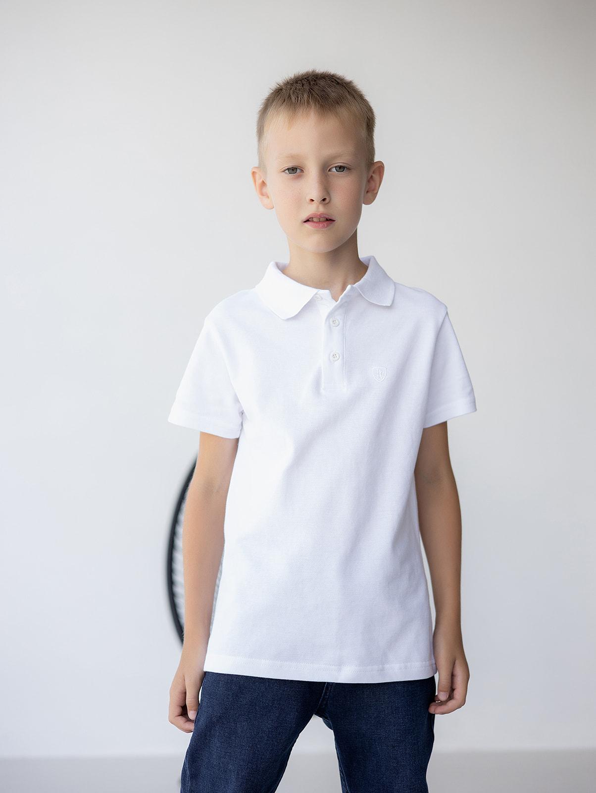 Поло з коротким рукавом для хлопчика
