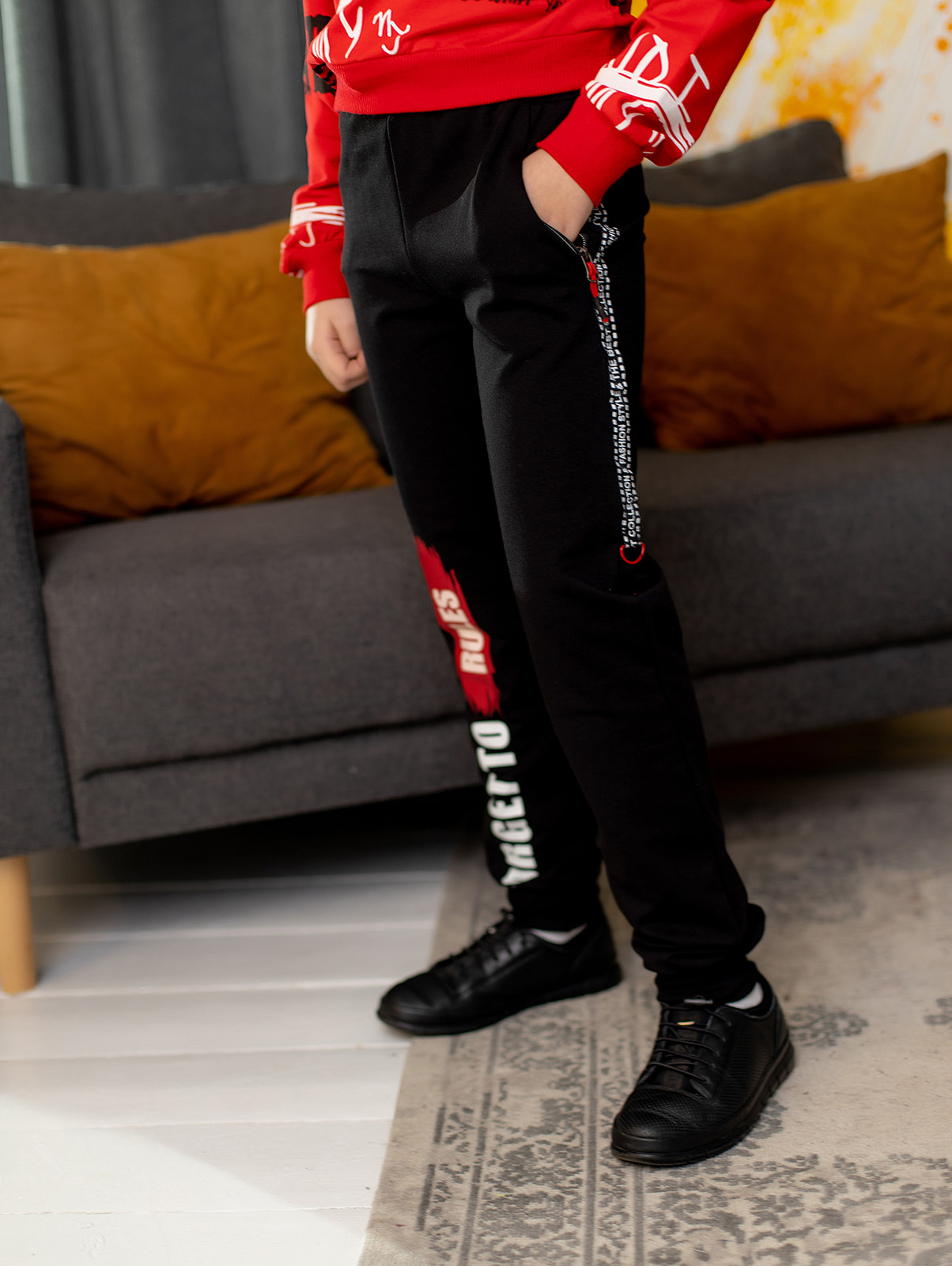 "Спортивные штаны ""The best"" для мальчика"