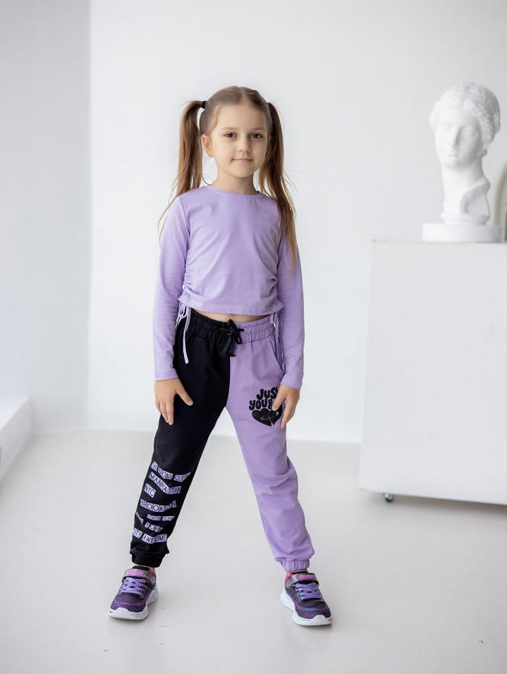 """Спортивные штаны """"JUST"""" для девочки"""