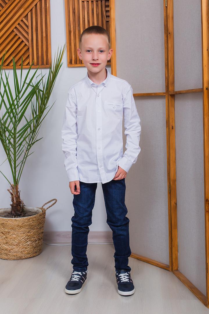 """Белая рубашка """"Classic"""" для мальчика"""