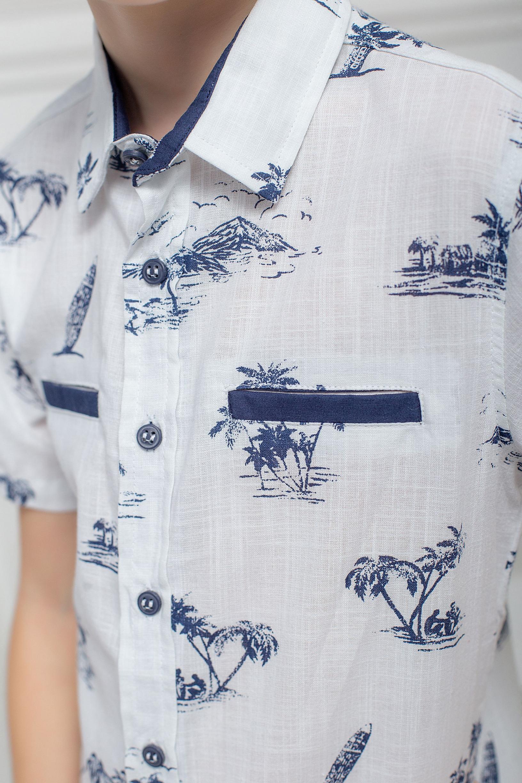 Літня сорочка з пальмами
