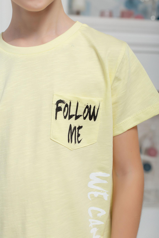 """Футболка """" Follow me"""" для мальчика"""