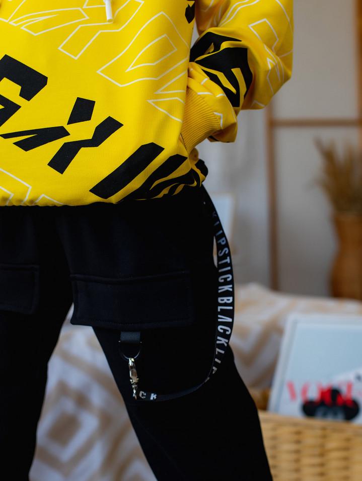 """Спортивні штани """"BLACK STYLE"""" для хлопчика"""