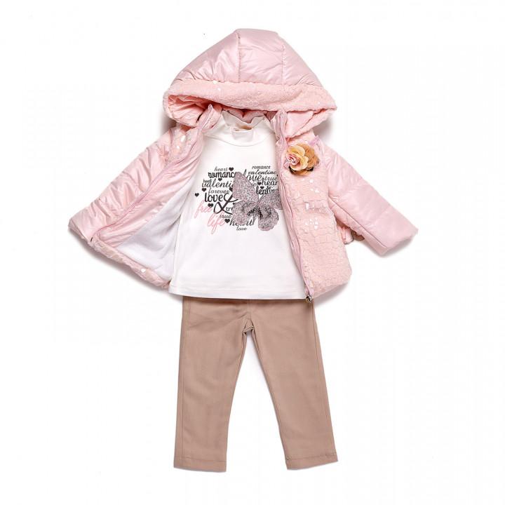 Набор Miss Pallone розовая с поясом для девочки