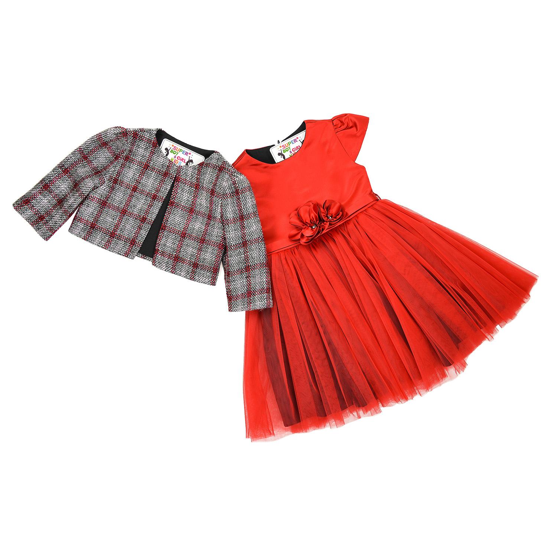 Святкова сукня з піджаком