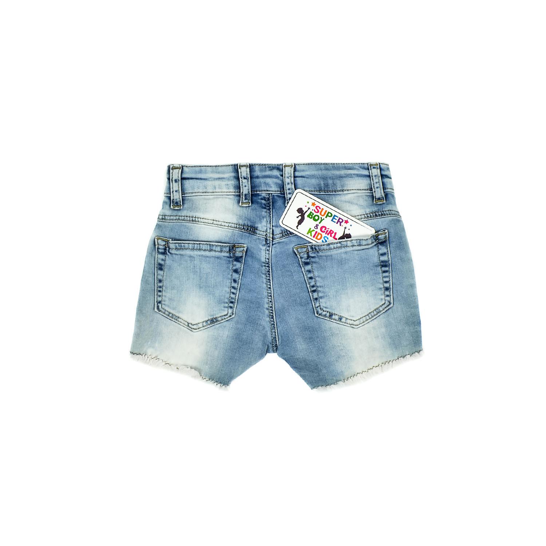 """Джинсові шорти """"Зірка"""" для дівчинки"""