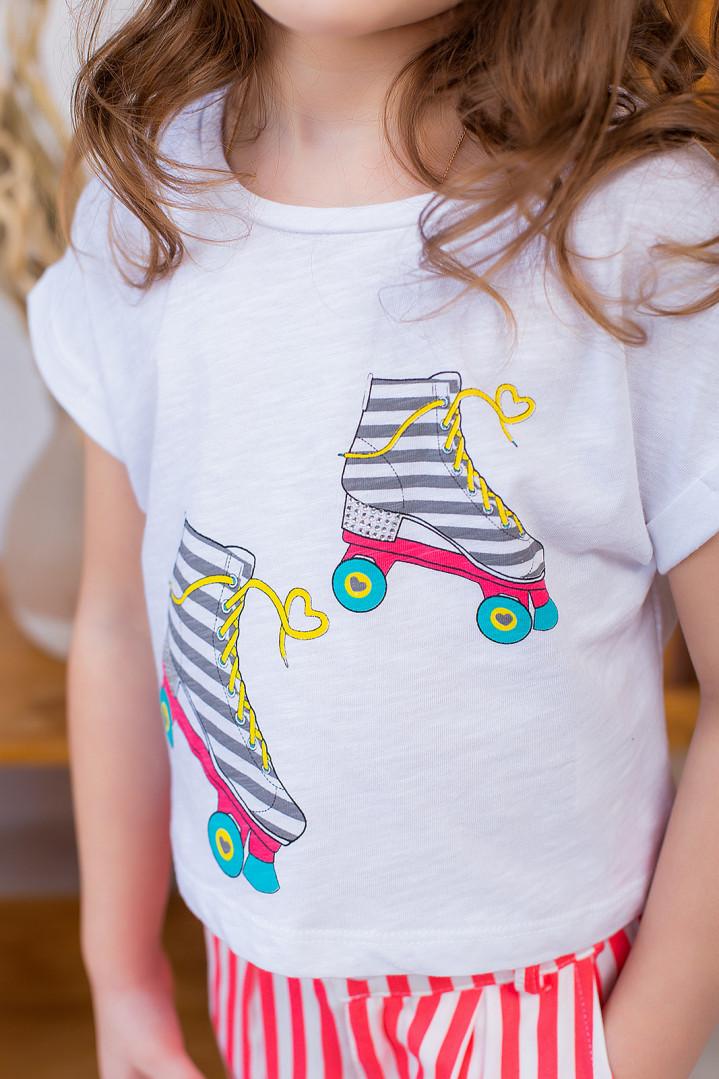 """Літній комплект """"Rollers"""" для дівчинки"""