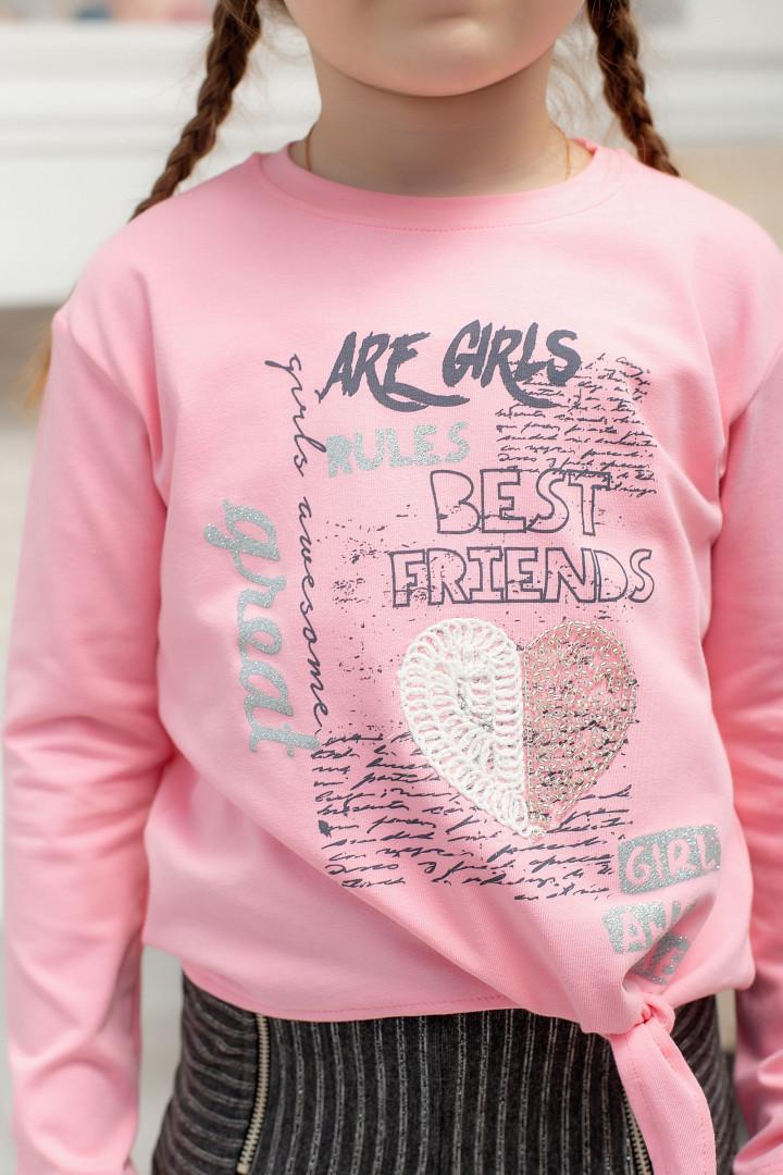 """Реглан """"Are girls"""" для девочки"""