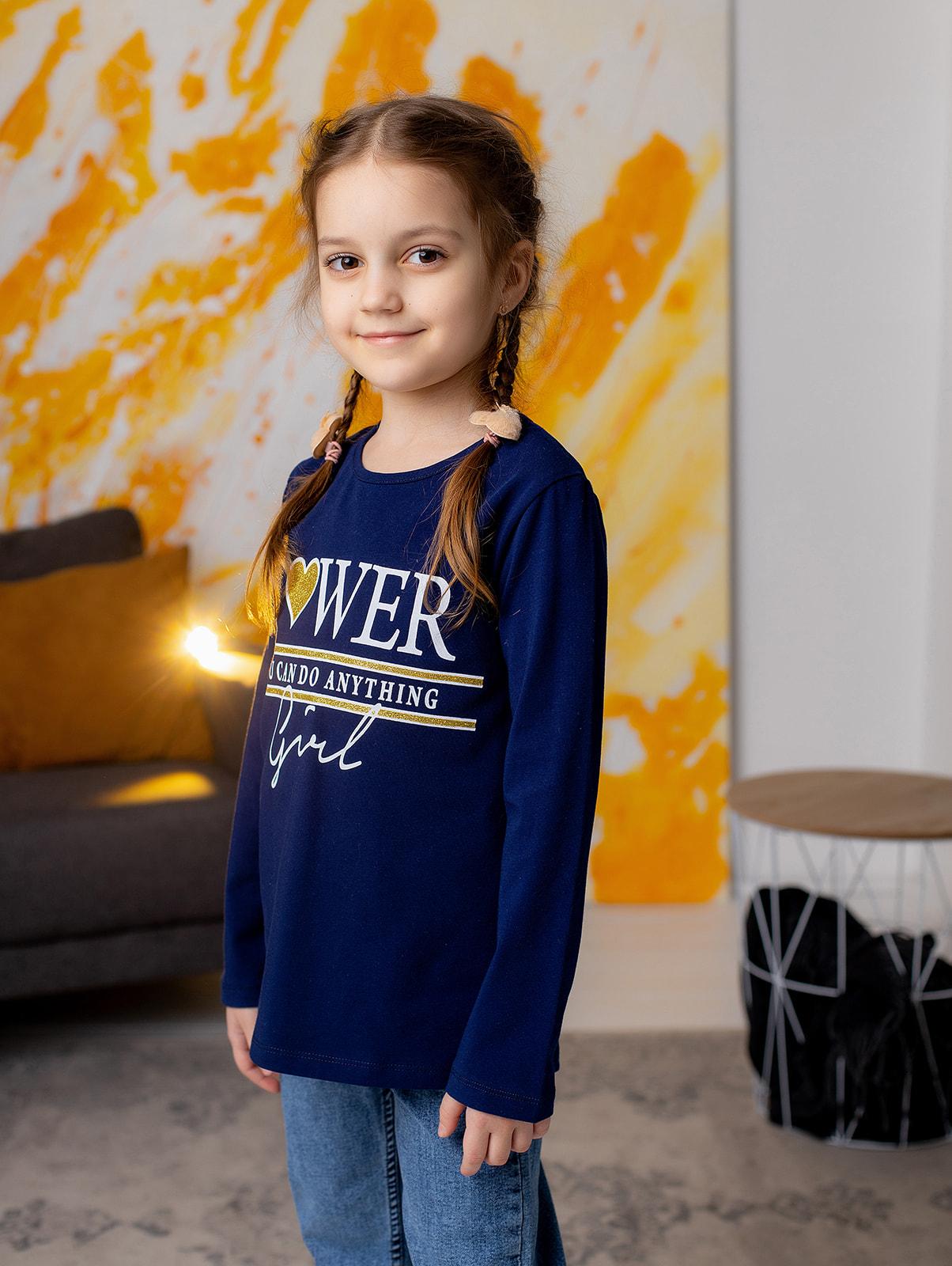 """Реглан """"POWER"""" для дівчинки"""
