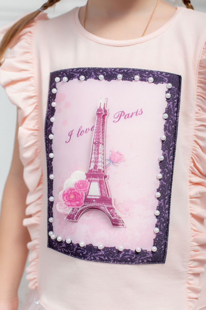 "Летний набор ""I love Paris"" для девочки"