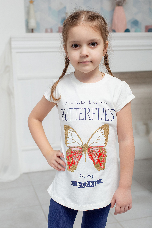 """Летний костюм """"Butterflies"""" для девочки"""