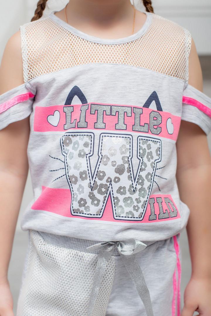 """Літній компект """"Little Wild"""" для дівчинки"""