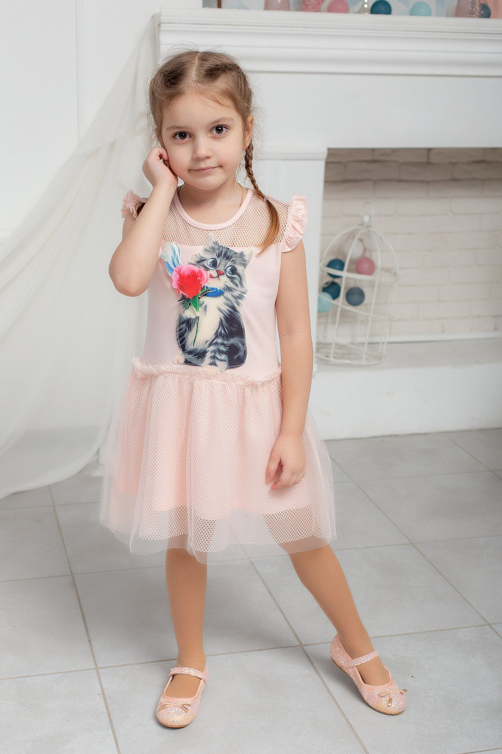 Літня сукня з 3D малюнком