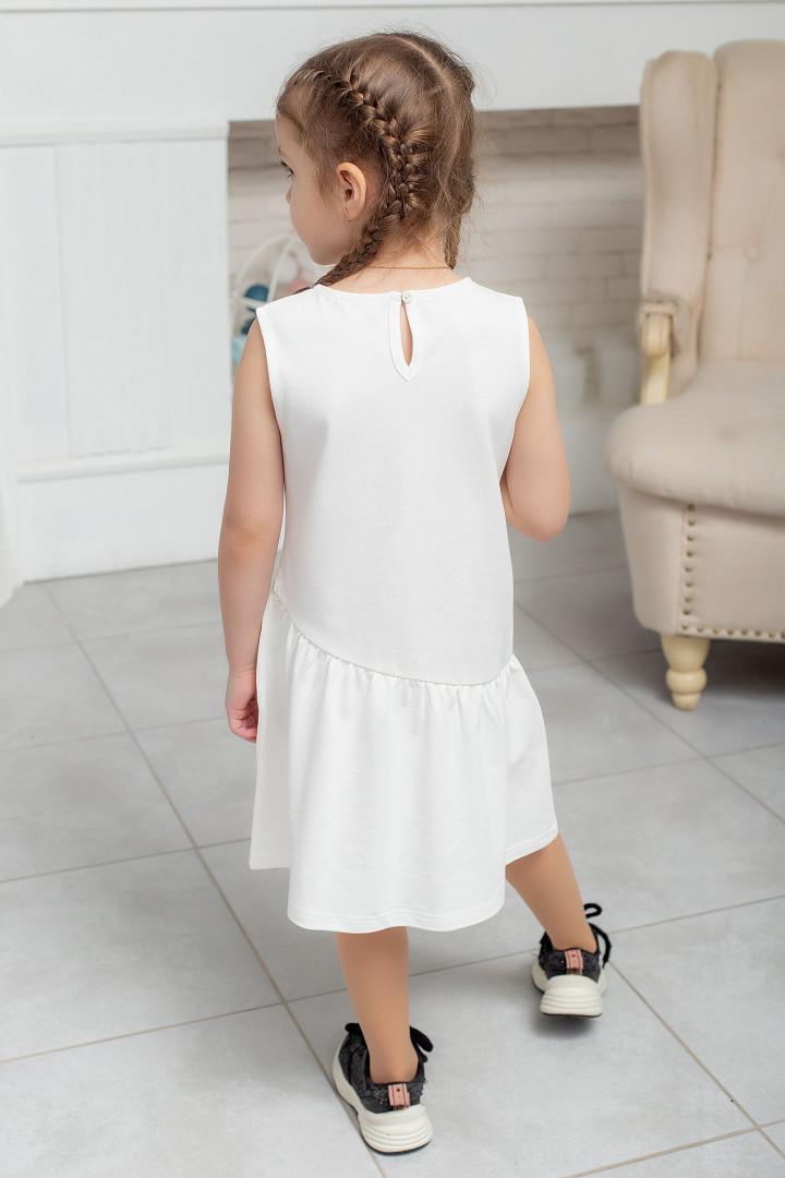 Летнее платье с полоской