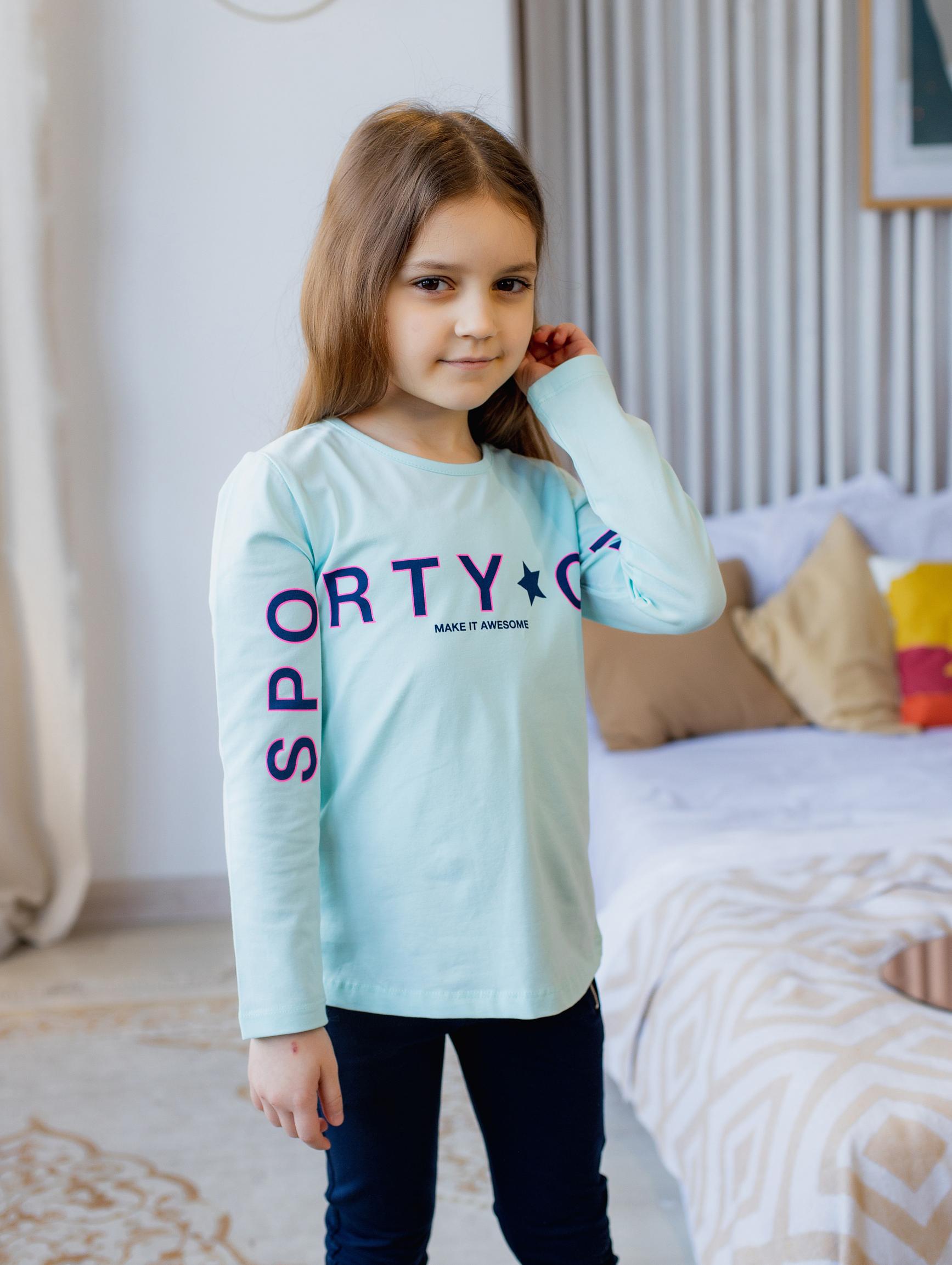 """Реглан """"RTY"""" для дівчинки"""