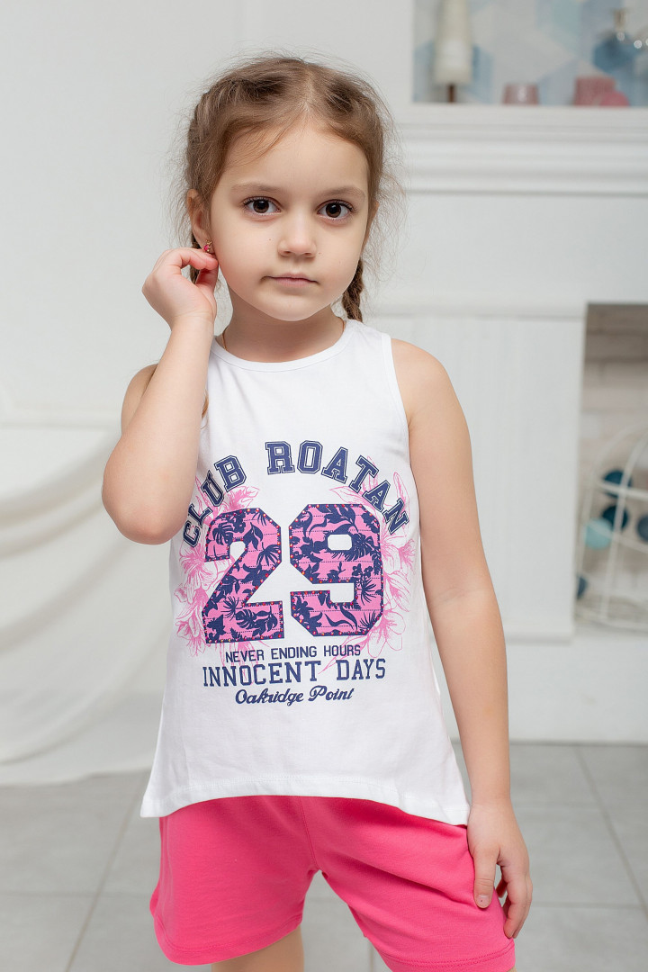 "Летний комплект ""29"" для девочки"