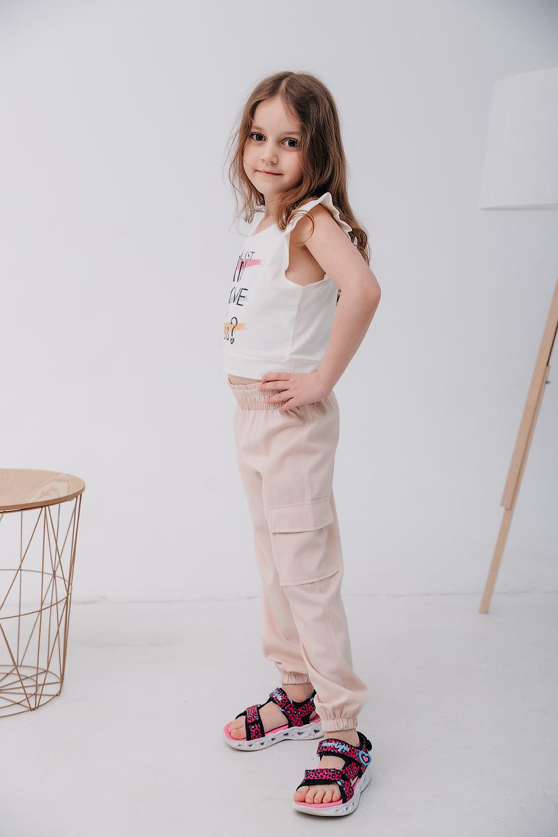 Летние штаны для девочки