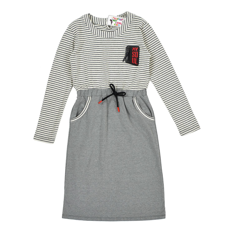 Повседневное платье с карманами
