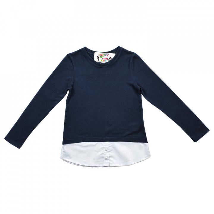 Кофта - рубашка для девочки