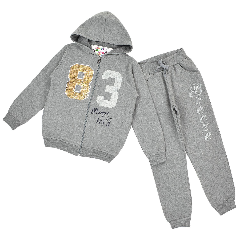 """Спортивний костюм """"83"""" для дівчинки"""