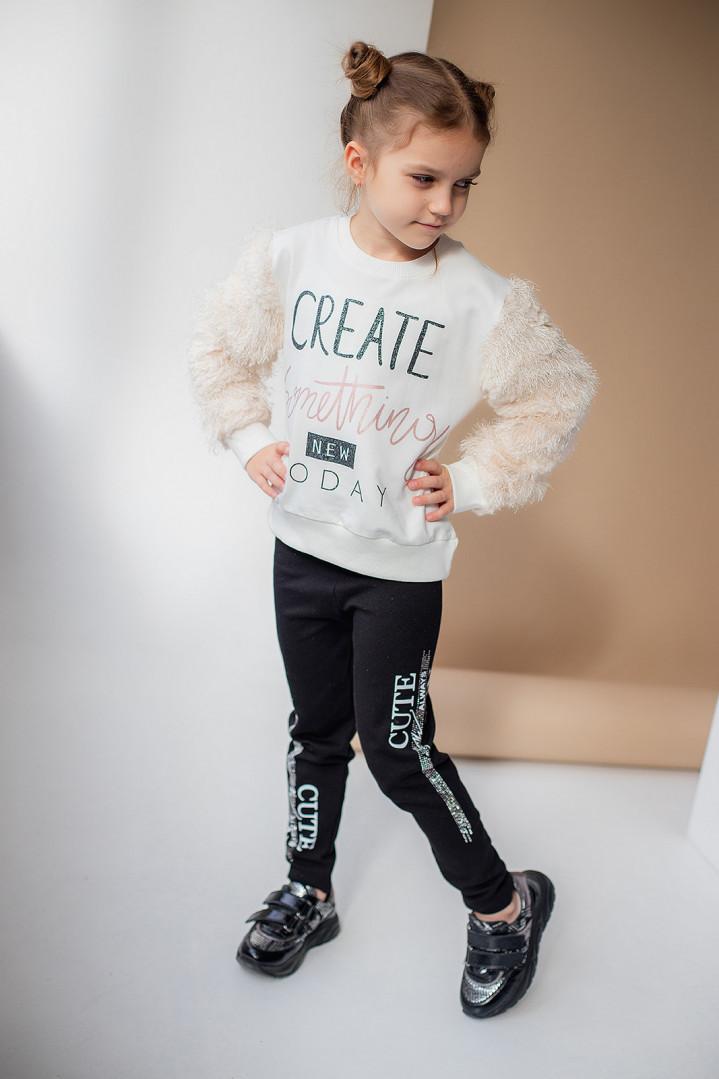 """Джемпер """"CREATE"""" для дівчинки"""