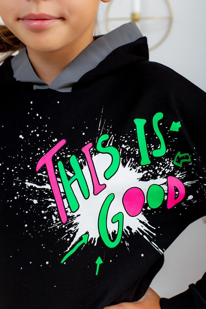 """Худі """"Good"""" для дівчинки"""