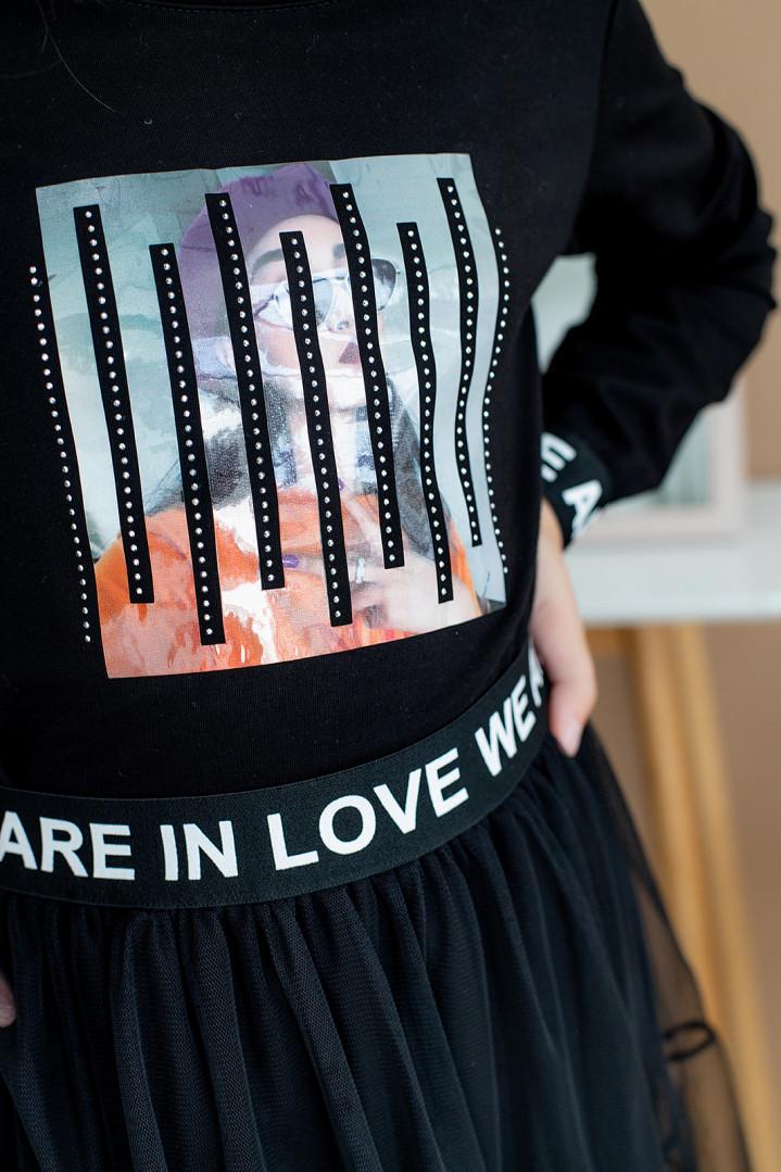 """Комплект двійка """"LOVE WE"""" для дівчинки"""