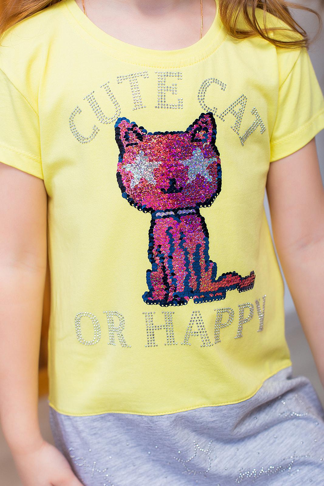 "Літня сукня ""Cute cat"""