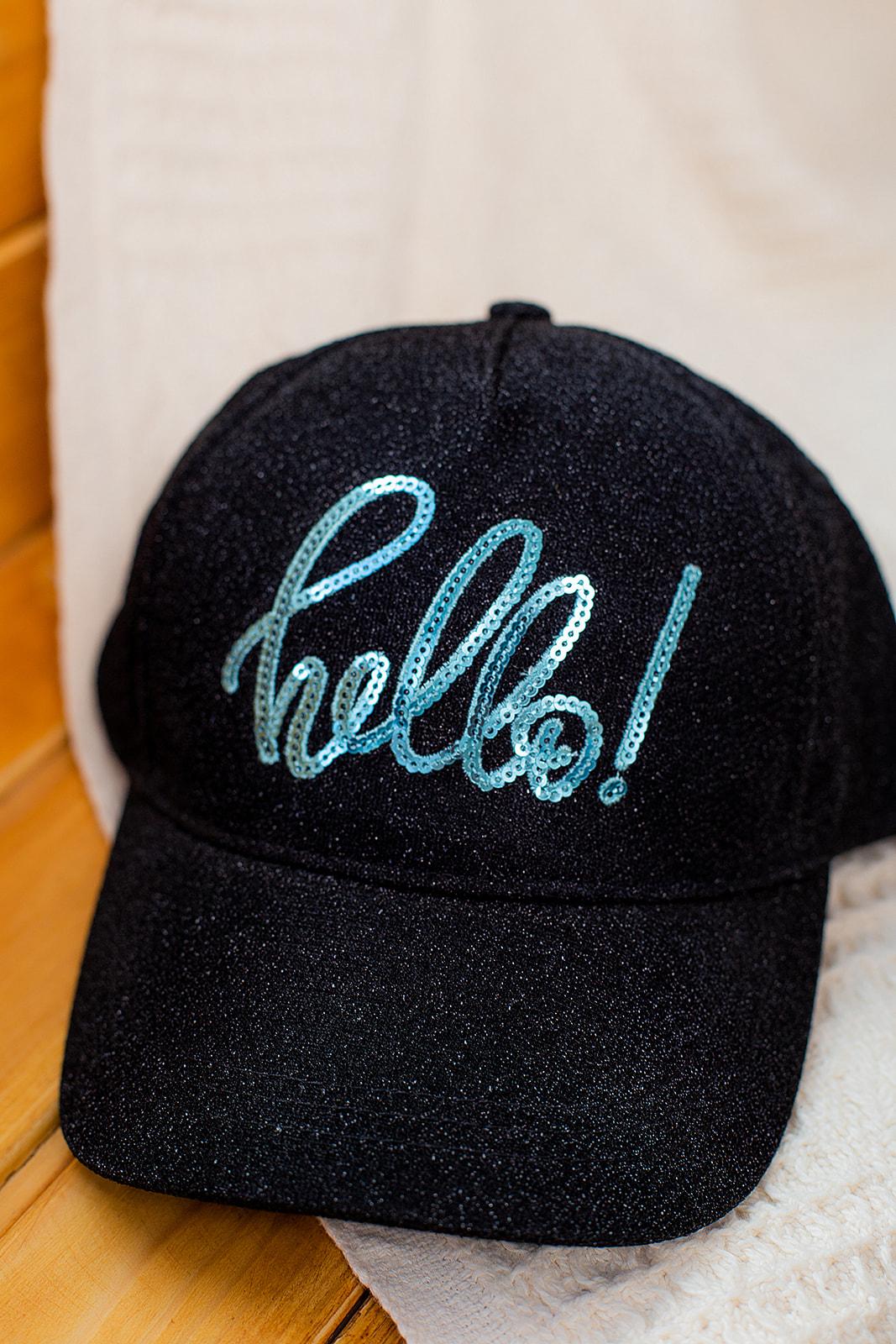 """Кепка """" Hello """" для девочки"""