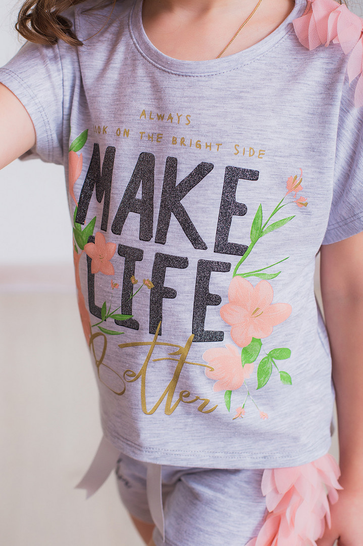 "Летний комплект ""MAKE LIFE"""