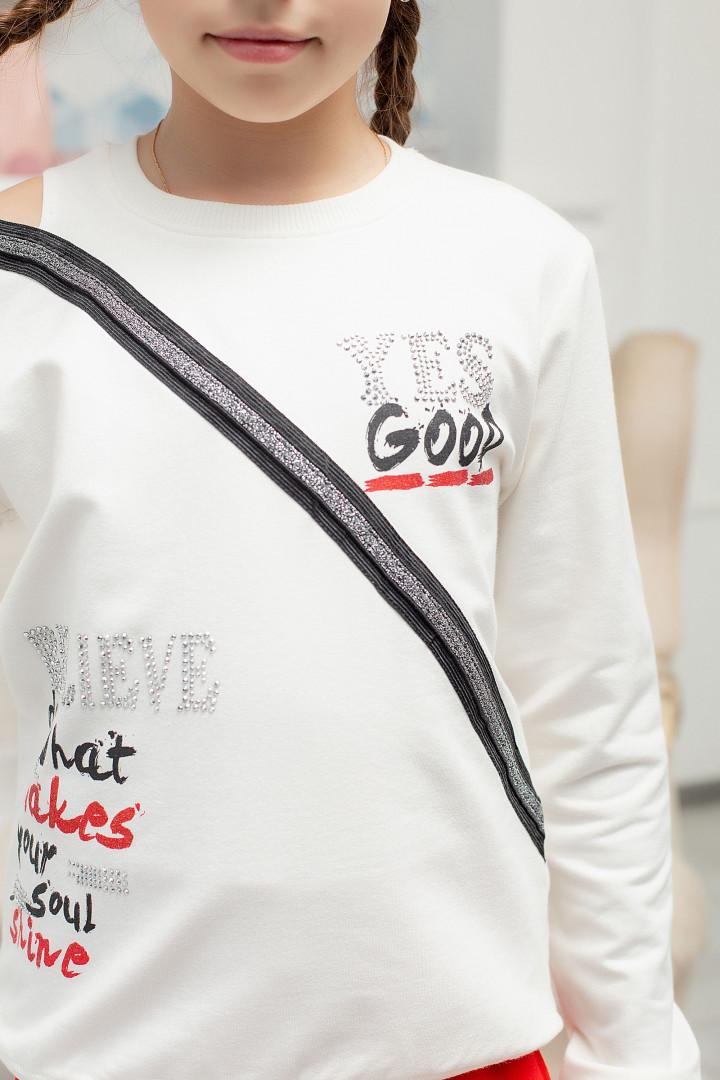 """Спортивний костюм """"YES GOOD"""" для дівчинки"""
