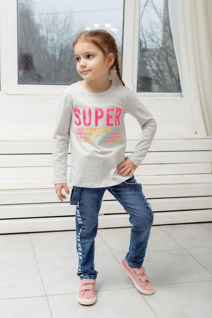 Реглан SUPER для девочки