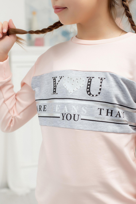 """Кофта """"YOU"""" для дівчинки"""