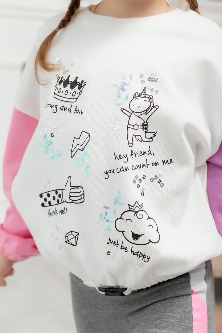"""Кофта """"Unicorn"""" для дівчинки"""