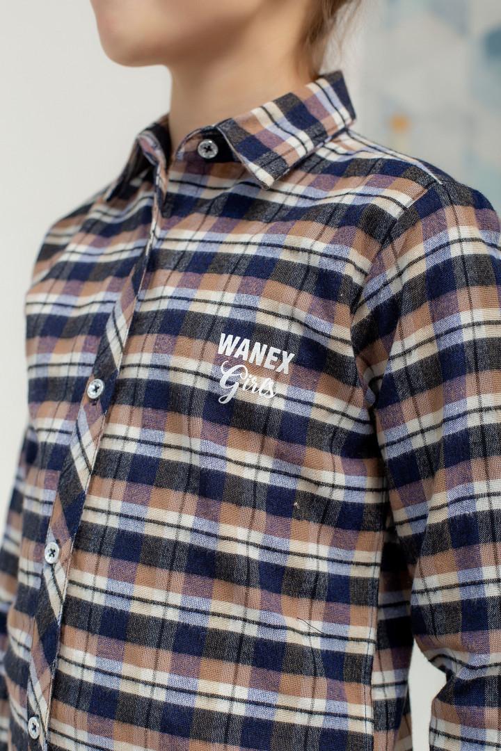 Подовжена сорочка для дівчинки
